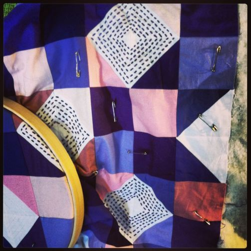 Advent quilt WIP photo-1